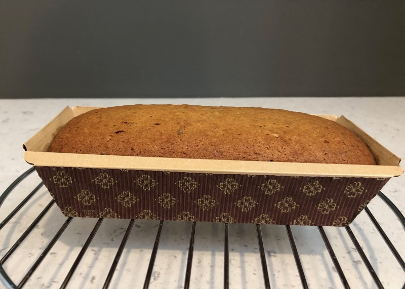 just baked banana bread