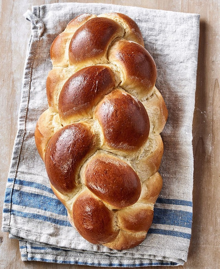 Braided Challah Loaf