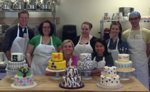 Advance cake class in Ann Arbor