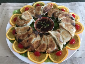 Zingerman's Chinese Dumplings and Scallion Pancakes