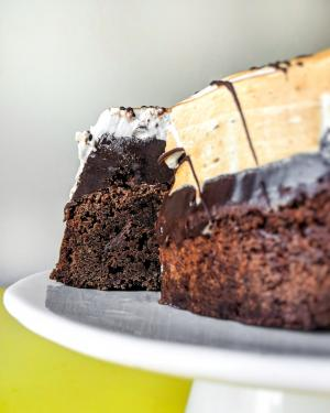 Mississippi Mud Pie Virtual Baking Class Example