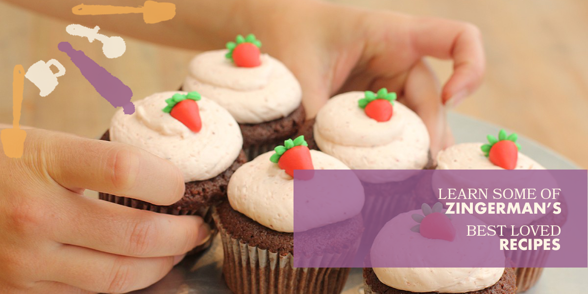 Cupcake recipe baking and cooking classes for kids